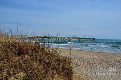 Photograph - Surf City Pier by Bob Sample