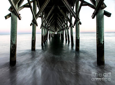 Photograph - Surf City Pier - Topsail Island by Matthew Turlington