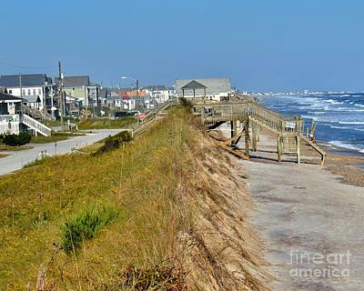 Photograph - Surf City Sand Dunes by Bob Sample