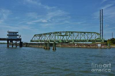 Surf City Swing Bridge - 1 Art Print by Bob Sample