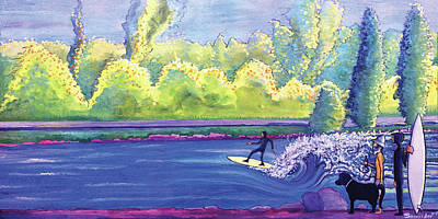 Painting - Surf Colorado by David Sockrider