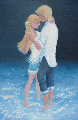 Painting - Surf Dancing by Pamela Poole