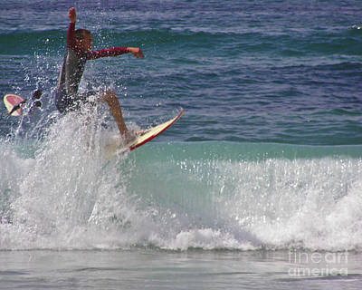 Photograph - Surf Dude by Terri Waters