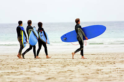 Photograph - Surf Dudes by Terri Waters