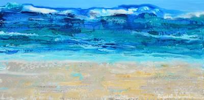 Painting - Surf by Elizabeth Langreiter