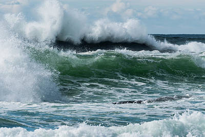 Photograph - Surf In The Sky by Robert Potts