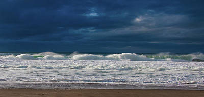 Photograph - Surf Lines by Elaine Goss