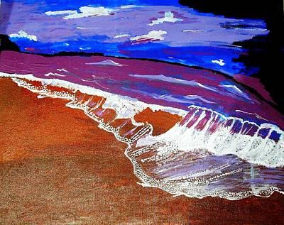 Surf Of Love 1 Art Print