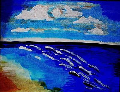 Surf Of Love 2 Art Print