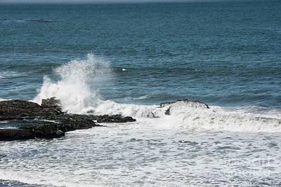 Photograph - Surf On Pacifica Beach by David Bearden