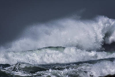 Photograph - Surf On The Rocks by Robert Potts