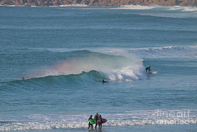 Photograph - Surf Rainbow by Terri Waters