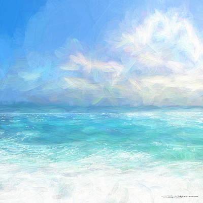 Digital Art - Surf Sea by Roger Lighterness