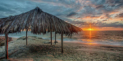 Pittsburgh According To Ron Magnes - Surf Shack at Sunset - Wide Format by Peter Tellone