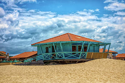 Photograph - Surf Shack by Debra and Dave Vanderlaan