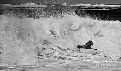 Crest Photograph - Surf Slider by Debra Banks