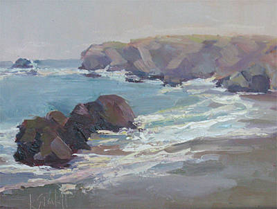 Painting - Surf Solitude by Kathleen Strukoff