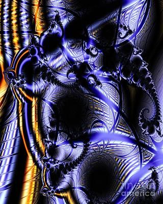 Digital Art - Surface Pattern by Ron Bissett