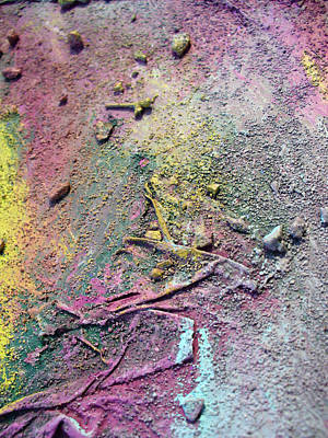 Art Print featuring the painting Surface by Sarah Crumpler