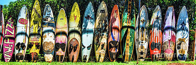 Photograph - Surfboard Fence Maui Hawaii by Peter Dang