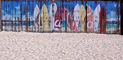 Photograph - Surfboards by Nancie Rowan