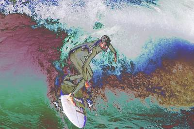 Photograph - Surfer 3 by Carol Tsiatsios