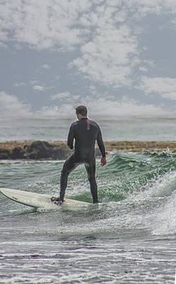 Photograph - Surfer 3 by Robert Hebert