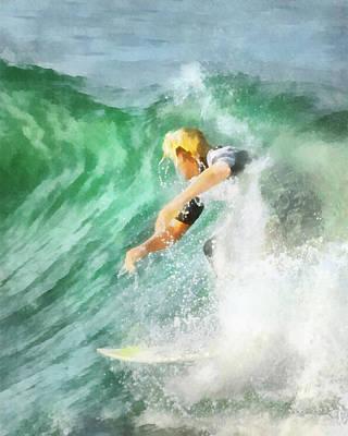 Digital Art - Surfer 46 by Francesa Miller