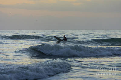 Photograph - Surfer Awaits by Jennifer White