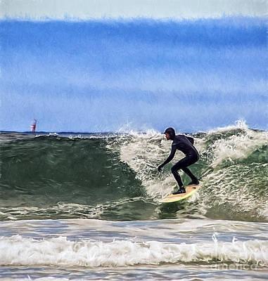 Photograph - Surfer Dude by Billie-Jo Miller