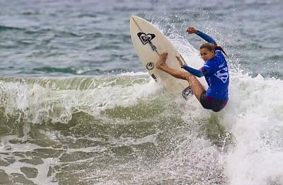 Photograph - Surfer Girl Chelsea Tuach by Waterdancer
