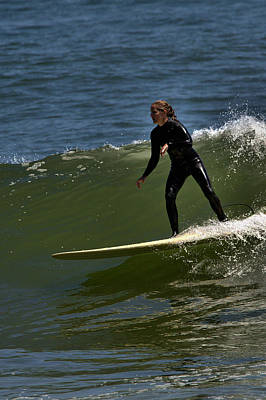 Photograph - Surfer Girl by Michael Gordon
