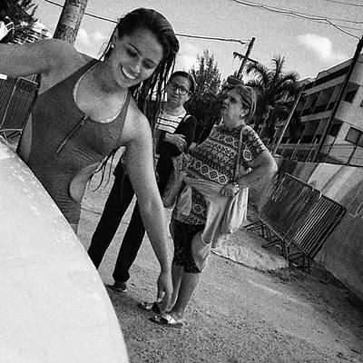 Girl Photograph - Surfer Girl  #surf #girl #woman by Rafa Rivas