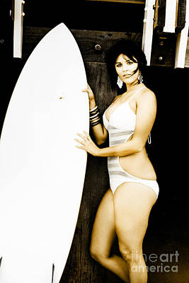 One Piece Swimsuit Photograph - Surfer Lifestyle by Jorgo Photography - Wall Art Gallery
