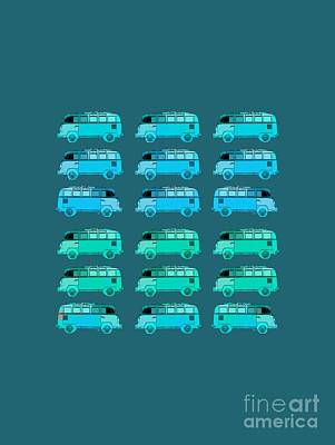 Photograph - Surfer Vans Pattern by Edward Fielding