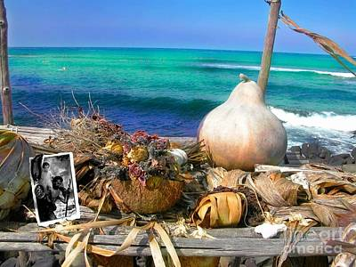 Heiau Photograph - Surfer's Altar by Uldra Patty Johnson
