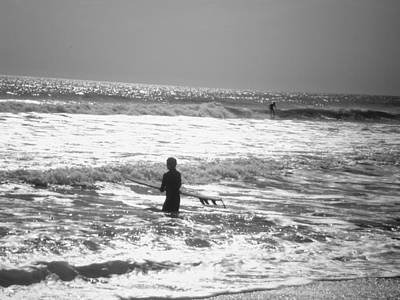 Photograph - Surfers by Utopia Concepts