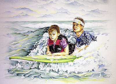 Painting - Surfers Healing by William Love