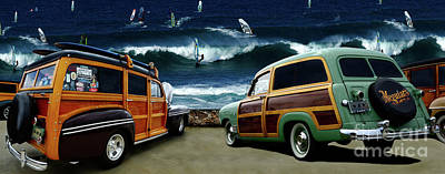 Surfer's Paradise Art Print by Bob Christopher
