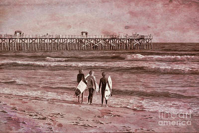 Photograph - Surfers Three by Deborah Benoit