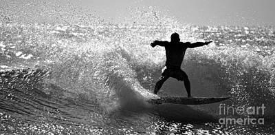Crest Photograph - Surfin Usa  Kekaha Beach by Debra Banks
