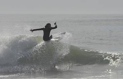 Surfing 114 Art Print by Joyce StJames