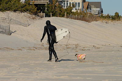 Surfing 49 Print by Joyce StJames