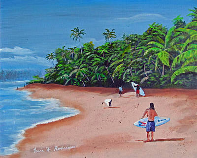 Surfing A La Rincon Original