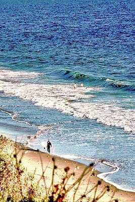 Photograph - Surfer Arriving Back On Shore by Kirsten Giving