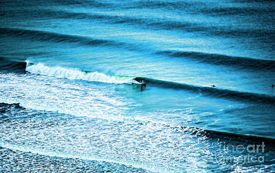 Photograph - Surfing Atlantic Ocean New Jersey  by Chuck Kuhn