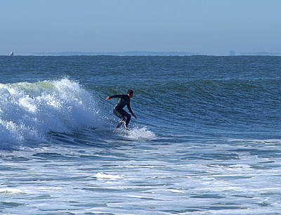 Photograph - Surfing I V by Newwwman