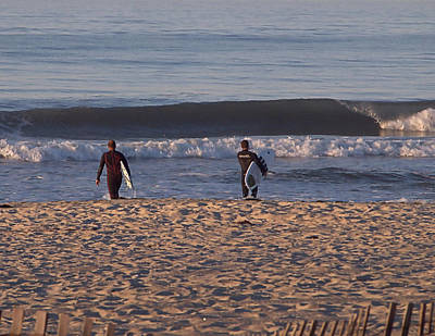 Photograph - Surfing by Newwwman