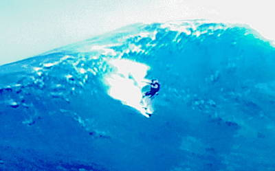 Photograph - Surfing On Extreme Wave by Stanley Morganstein