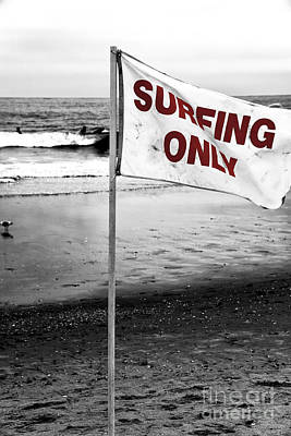 Photograph - Surfing Only Fusion by John Rizzuto